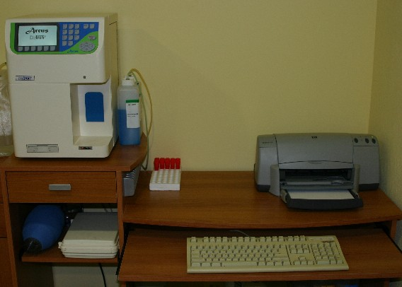Blood analyser